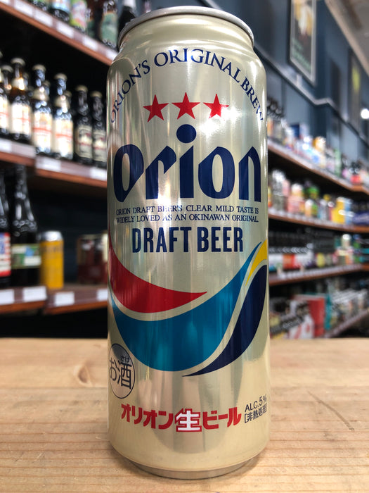 Orion Premium Draft 500ml Can