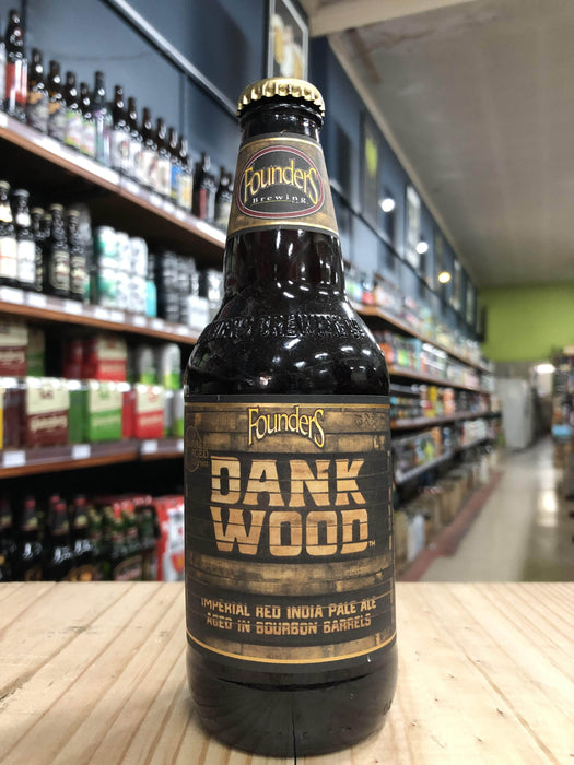 Founders Dankwood Bourbon Barrel-Aged Imperial Red IPA 355ml