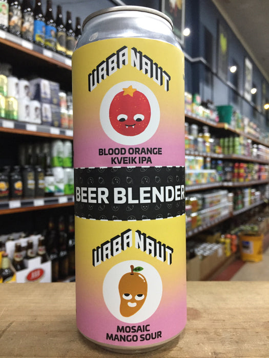 Urbanaut Beer Blender Blood Orange Kveik IPA x Mosaic Mango Sour Blend (2 x250ml) Cans