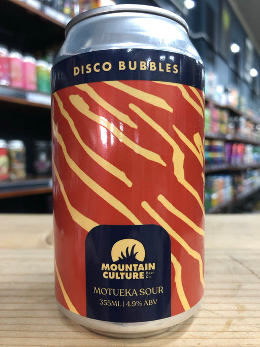 Mountain Culture Disco Bubbles 355ml Can
