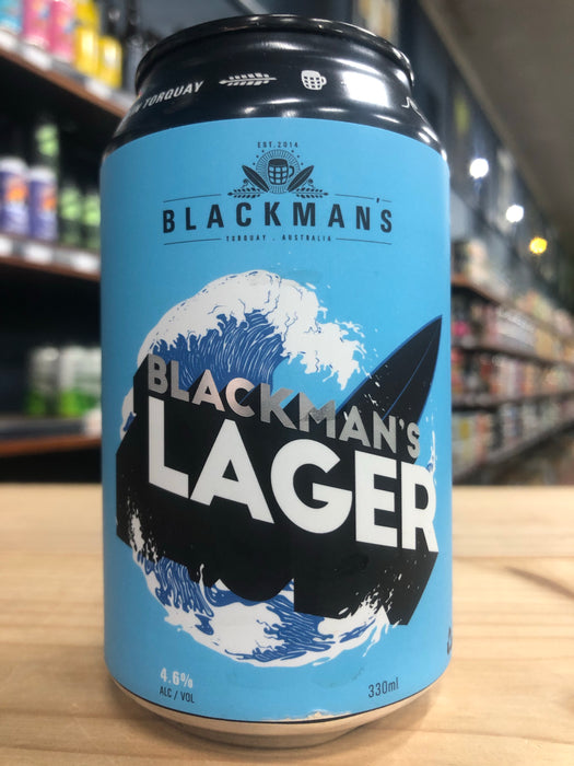 Blackman's Lager 330ml Can