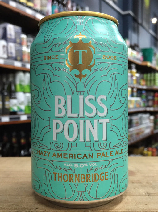 Thornbridge Bliss Point Hazy American Pale Ale 330ml Can