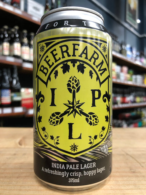 Beerfarm India Pale Lager 375ml Can