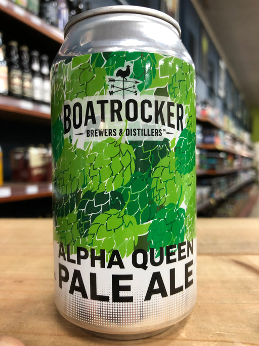 Boatrocker Alpha Queen Pale Ale 375ml Can
