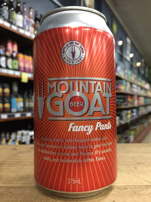 Mountain Goat Fancy Pants 375ml Can