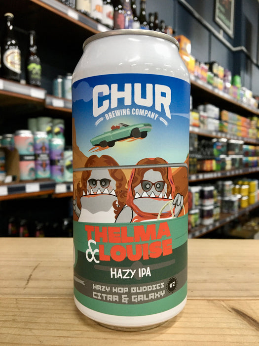 Chur Thelma And Louise - Hazy Hop Buddies #7 440ml Can