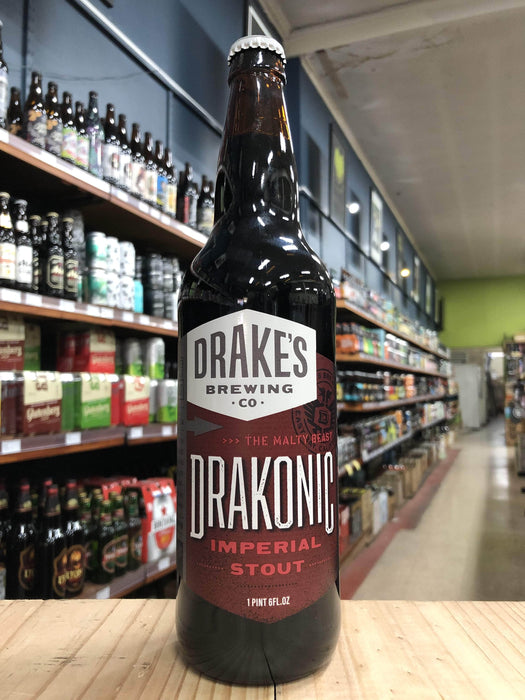 Drakes Drakonic Imperial Stout 655ml - Purvis Beer