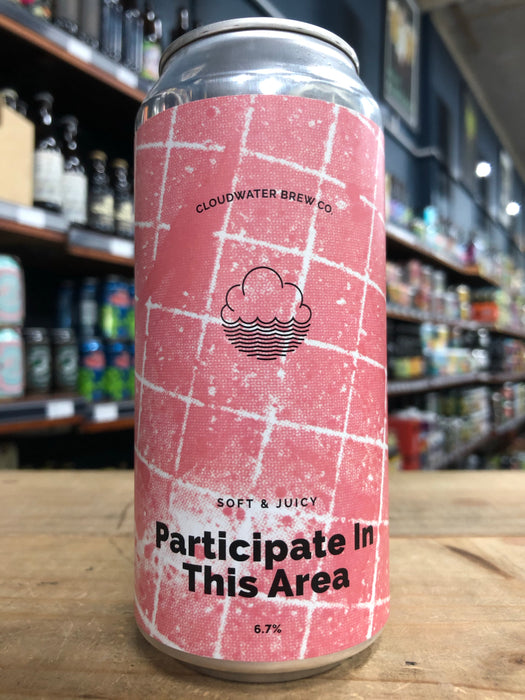 Cloudwater Participate In This Area 440ml Can