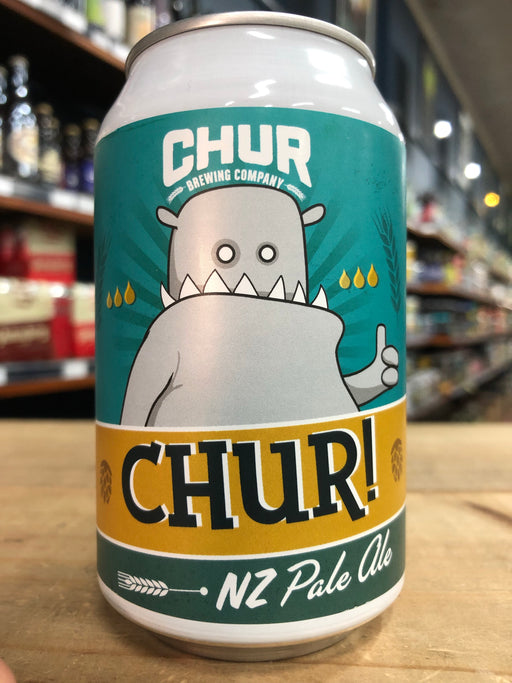 Chur CHUR! NZ Pale Ale 330ml Can