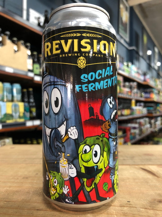 Revision Social Fermentation IPA 473ml Can