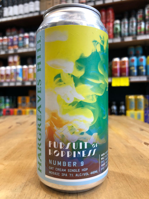 Hargreaves Hill Pursuit of Hoppiness #9 Oat Cream Mosaic IPA 440ml Can
