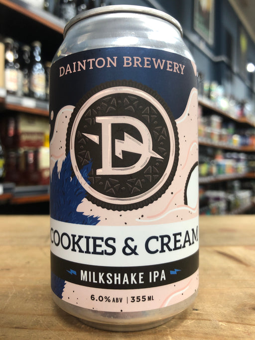 Dainton Cookies & Cream Milkshake IPA 355ml Can