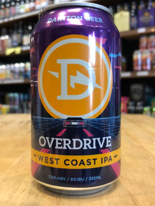 Dainton Overdrive West Coast IPA 355ml Can