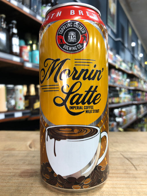 Toppling Goliath Mornin' Latte Imperial Coffee Milk Stout 473ml Can