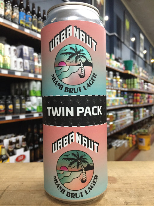 Urbanaut Twin Pack Miami Brut Lager 2 x 250ml Can