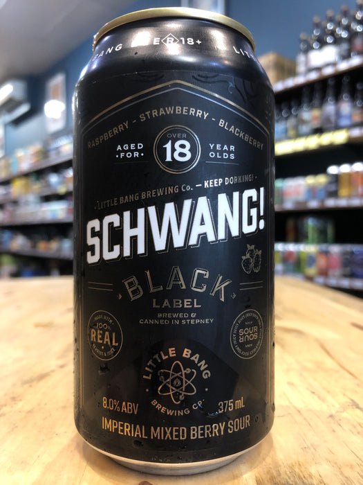 Little Bang Schwang! Black 375ml Can