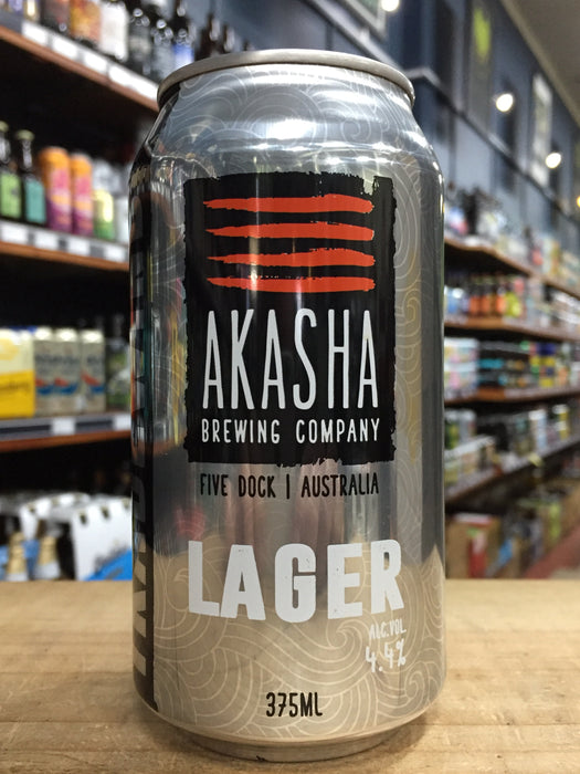 Akasha Tradewind Lager 375ml Can
