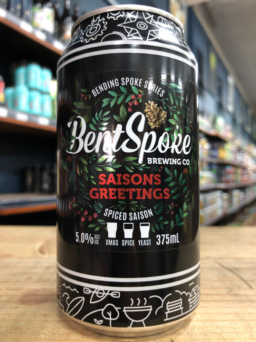 Bentspoke Saisons Greetings Spiced Saison 375ml Can