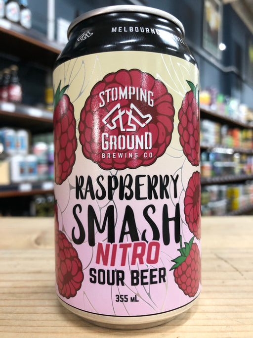 Stomping Ground Raspberry Smash Nitro Sour 355ml Can
