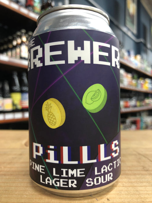 Fury & Son The Brewers Pillls Pine Lime Lactic Lager Sour 330ml Can