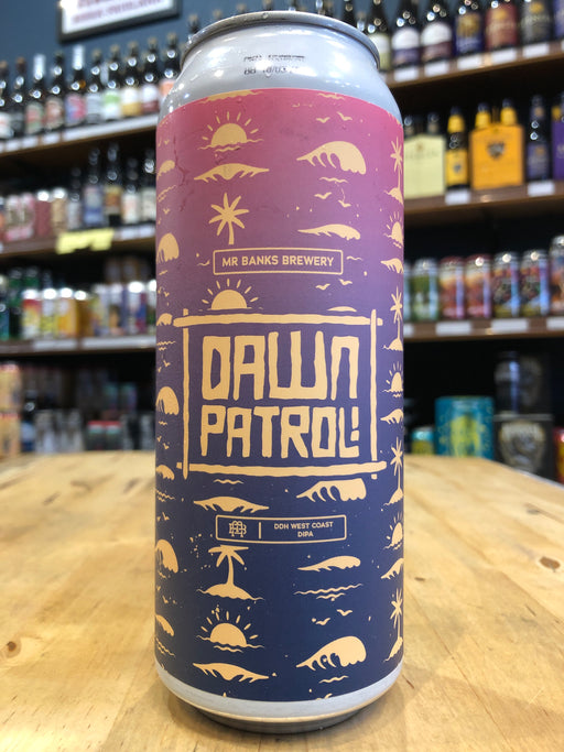 Mr Banks Dawn Patrol DDH West Coast DIPA 500ml Can