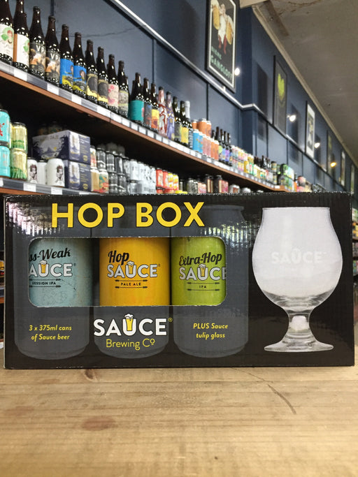 Sauce Hop Box Gift Pack