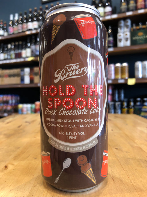 The Bruery Hold the Spoon: Black Chocolate Cake 473ml Can