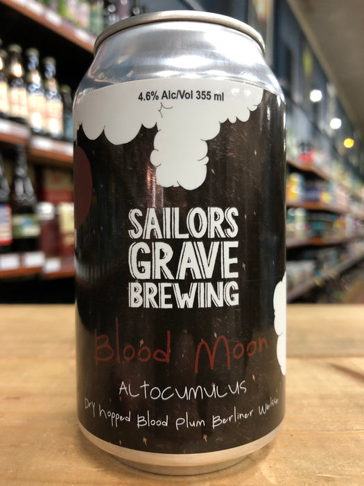 Sailors Grave Blood Moon - Blood Plum Altocumulus 355ml Can
