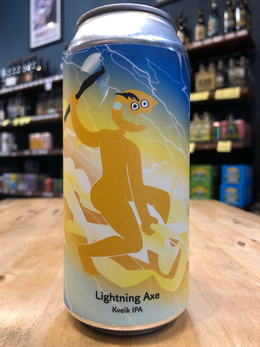 Tallboy & Moose Lightning Axe Kveik IPA 440ml Can