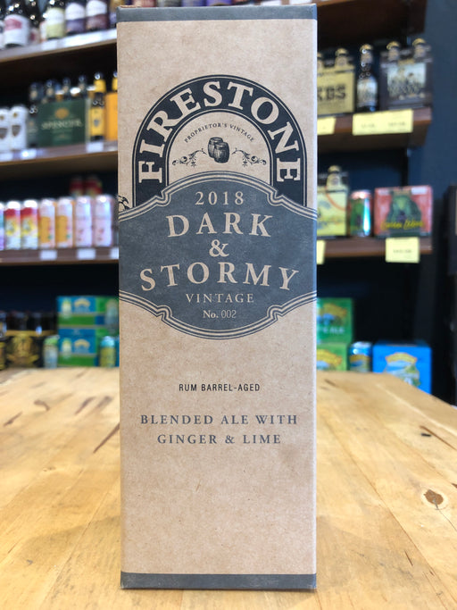 Firestone Walker Dark & Stormy 2018 355ml