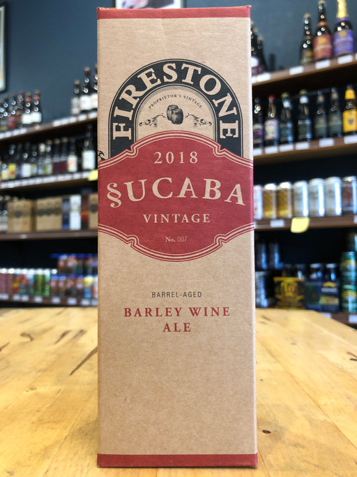 Firestone Walker Sucaba 2018 Barley Wine 355ml