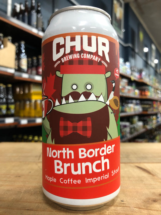 Chur North Border Brunch Maple Coffee Imperial Stout 440ml Can