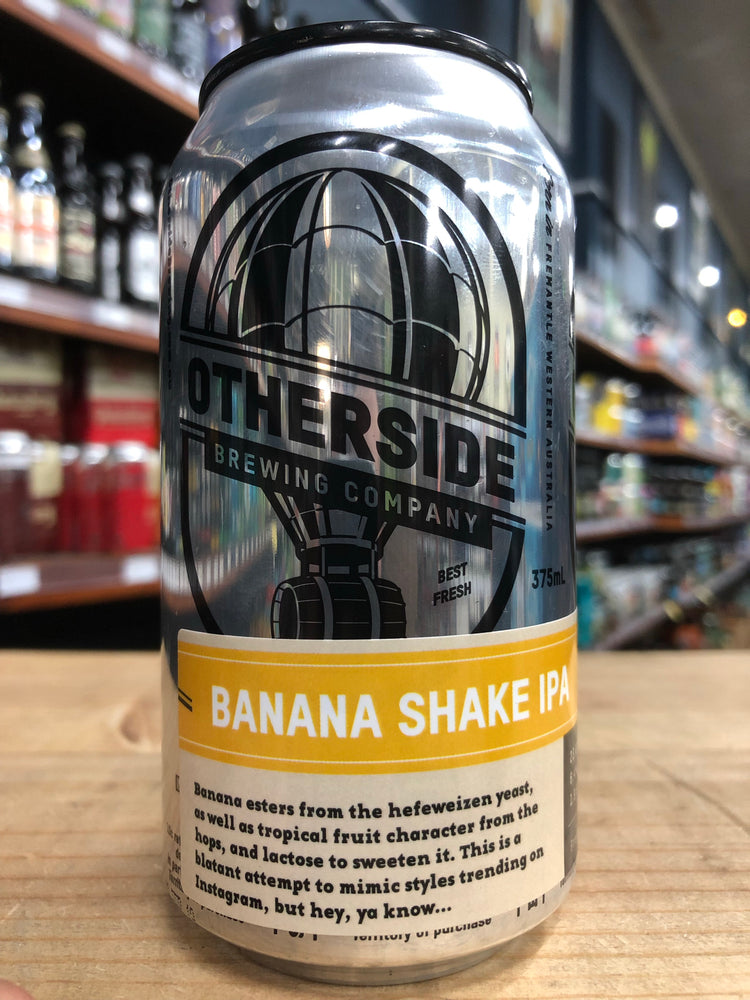 Otherside Banana Milkshake IPA 375ml Can