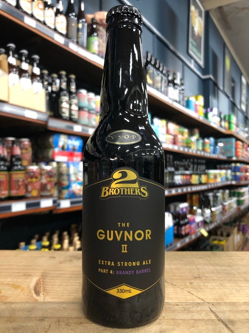 2 Brothers The Guvnor II Part 4: V.S.O.P Brandy Barrel Aged Extra Strong Ale 330ml