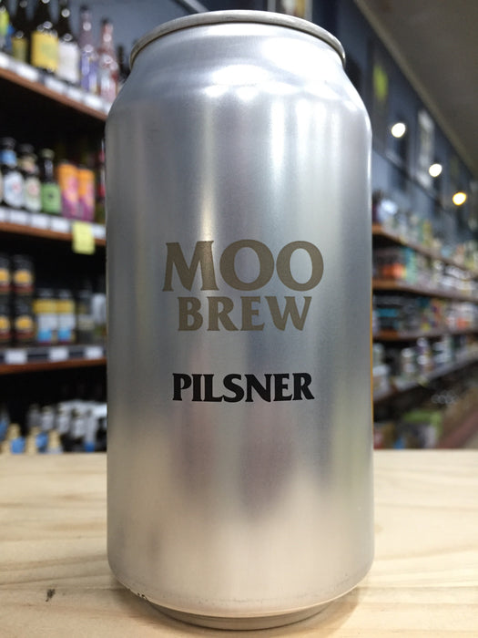 Moo Brew Pilsner 375ml Can