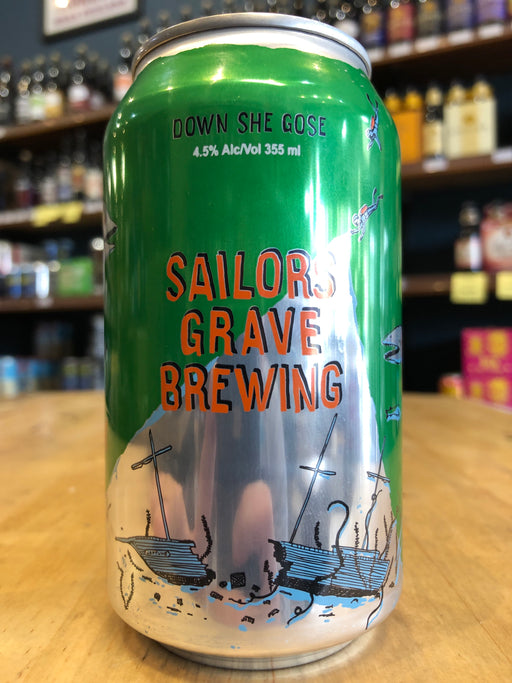 Sailors Grave Down She Gose 355ml Can