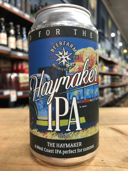 Beer Farm Haymaker IPA 375ml Can