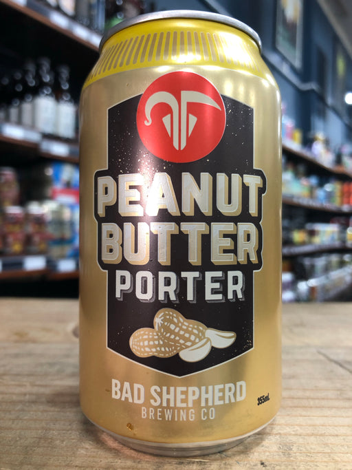 Bad Shepherd Peanut Butter Porter 375ml Can