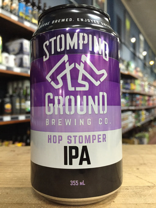 Stomping Ground Hop Stomper IPA 355ml Can