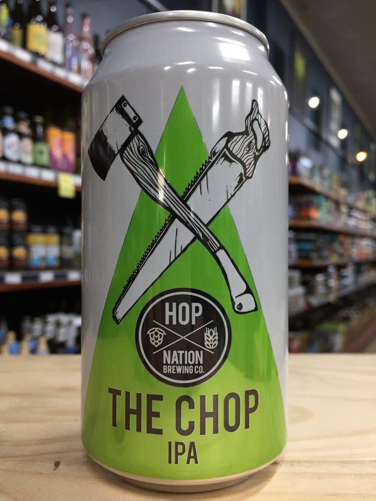 Hop Nation The Chop IPA 375ml Can