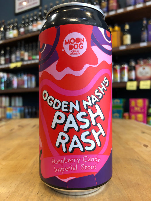 Moon Dog Ogden Nash's Pash Rash Imperial Stout 440ml Can