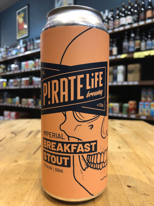Pirate Life Imperial Breakfast Stout 500ml Can