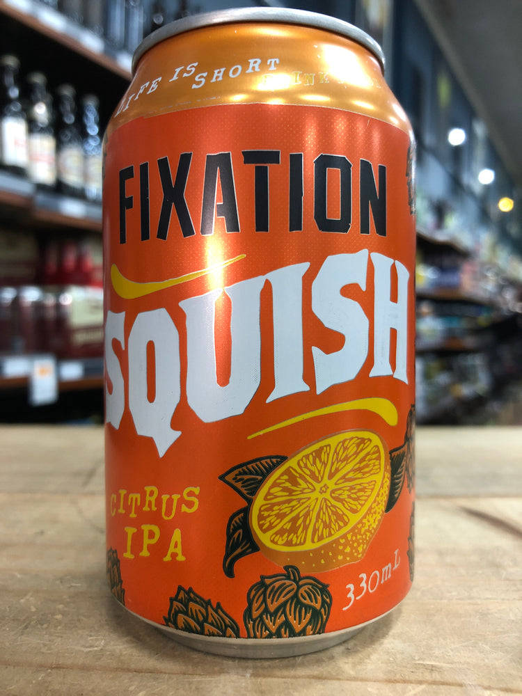 Fixation Squish Citrus IPA 330ml Can
