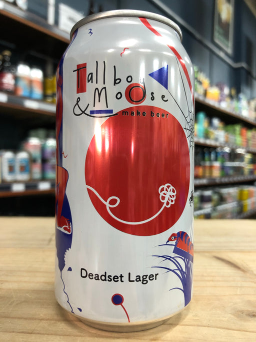 Tallboy & Moose Deadset Lager 375ml Can