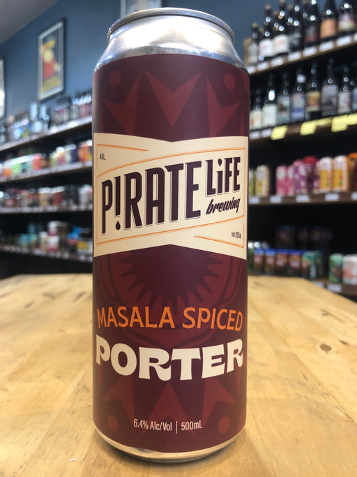 Pirate Life Masala Spiced Porter 500ml Can