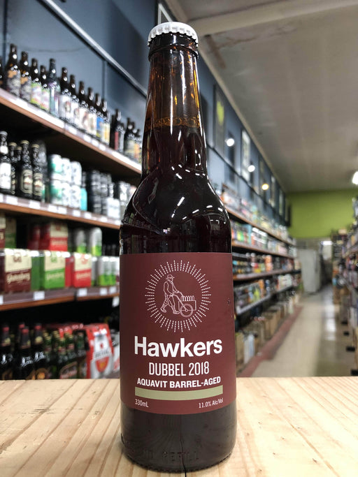 Hawkers Aquavit Barrel-Aged Dubbel 2018 330ml