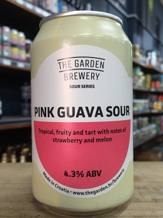 The Garden Pink Guava Sour 330ml Can