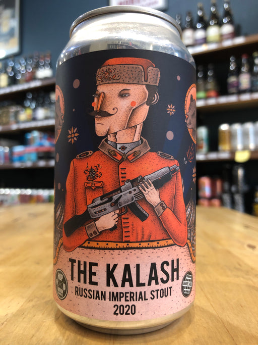 Hop Nation The Kalash Russian Imperial Stout 2020 375ml Can