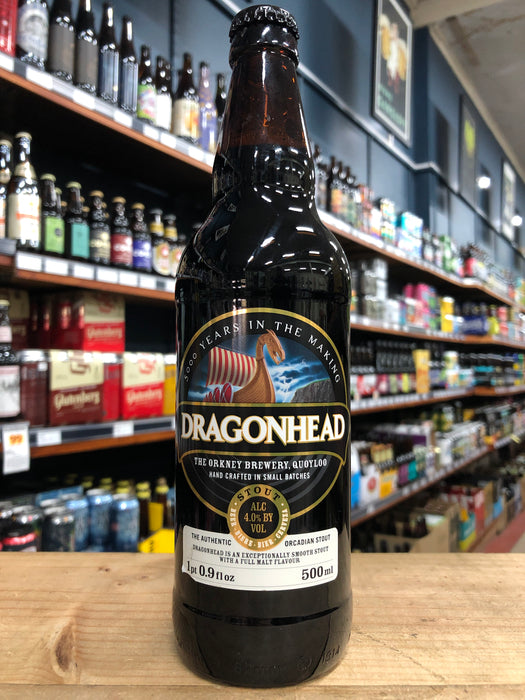 Orkney Dragonhead Stout 500ml