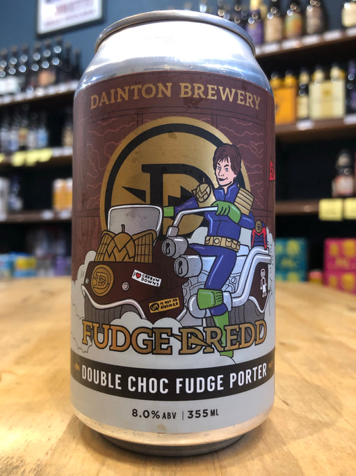 Dainton Fudge Dredd 355ml Can